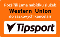 Western Union pobo�ky Tipsport